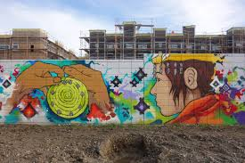 station house mural street art sf original native american inhabitants culture and history of west oakland street art mural by ryan
