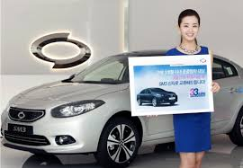 trading in a brand new car renault samsung to tempt car buyers with sm3 333 project trade