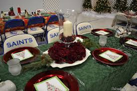Decoration For Christmas In Church by Christmas Dinner Table Ideas From Our Church U0027s Christmas Dinner