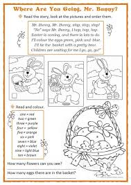 the story of the easter bunny easter bunny worksheet free esl printable worksheets made by