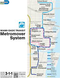Map Of Miami International Airport by Public Transportation Flagler Street Project
