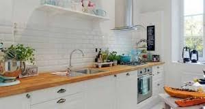 cuisine sol blanc cuisine blanche 20 idées déco pour s inspirer deco cool