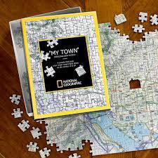 Personalized World Travel Map by National Geographic U0027 U0027my Town U0027 U0027 Custom Map Puzzle National