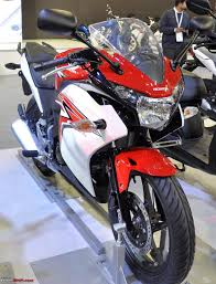 cbr 150 cc bike price honda motorcycles auto expo 2012 team bhp