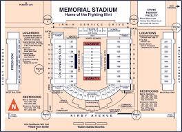 stadium floor plan illini tickets football seating chart university of illinois