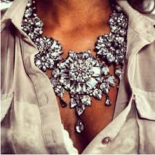 big crystal statement necklace images Aldo crystal statement necklace on the hunt jpg