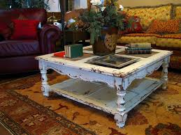 distressed white side table coffee tables wonderful distressed white coffee table high