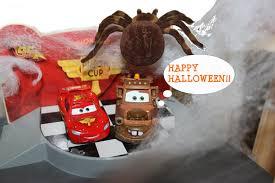 disney pixar cars lightning mcqueen u0026 mater visit a haunted house