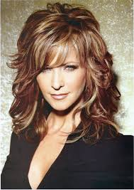 ombre style for older woman hairstyles stylish ombre wavy medium length hairstyles medium