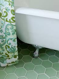 Hexagon Tile Bathroom Floor by Green Hexagon Floor Tile Google Search Bathroom Pinterest