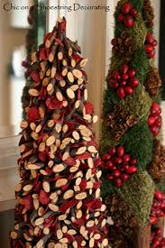 chic on a shoestring decorating a rustic christmas vignette rustic christmas decor