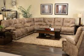 Black Sectional Sofa With Chaise Sofa Wonderful Sectional Sofas With Recliners For Small Spaces
