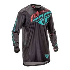 fly racing motocross fly racing 2016 lite hydrogen motocross jersey stretch off road mx