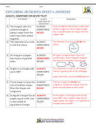 Similar And Congruent Figures Worksheet 5th Grade Geometry