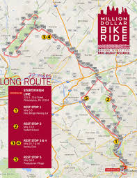 Upenn Map Routes And Maps Million Dollar Bike Ride Penn Medicine Orphan