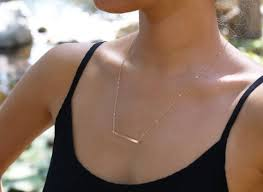 gold name bar necklace bar necklace sterling silver 14k gold bar necklace layered