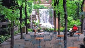 tiny greenacre park fights for sunlight among new york city