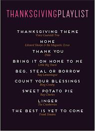 thanksgiving menu playlist garvinandco