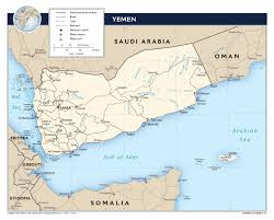 Political Map Of Asia Maps Of Yemen Detailed Map Of Yemen In English Tourist Map Of