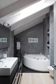 bathroom bathroom design with clear shower wall divider anss