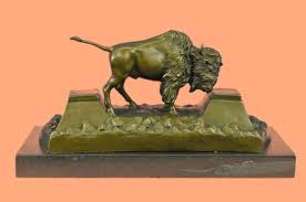 Buffalo Home Decor Fine Art Sculptures Art