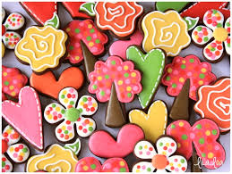 Valentine S Day Cookie Decor by Decorated Valentine U0027s Day Tree Cookies Cookies And Cards