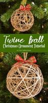 Special Christmas Ornaments Twine Ball Christmas Ornament Tutorial Ornament Tutorial Twine