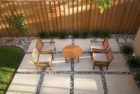 Paved Backyard Ideas 5 Possible Patio Paving Patterns Small Spaces Lush And Empty