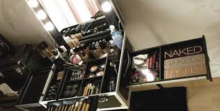 hair and makeup station portable makeup station for professional makeup artists