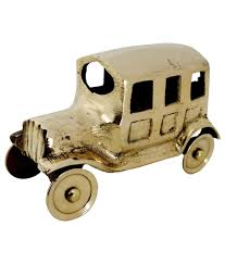 pindia fancy home decor small brass car show piece buy pindia