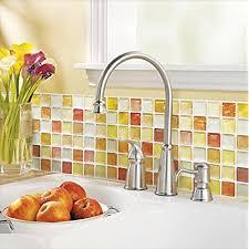 kitchen backsplash wallpaper amazon com