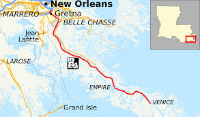 Downtown New Orleans Map by Louisiana Highway 23 Wikipedia