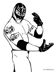 rey mysterio coloring pages 7924