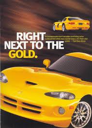 Dodge Viper Final Edition - 2002 sales brochure dodge viper final edition registry