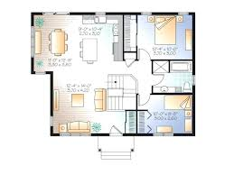 open plan house plans 2 bedroom open plan house level 1 2 bedroom house plans with open