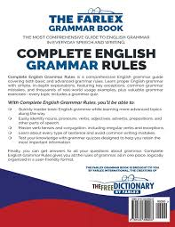 complete english grammar rules examples exceptions exercises