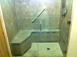Bathroom Shower With Seat Shower Stalls With Seats Handicap Shower Stalls Bathroom Shower