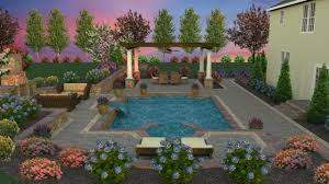 3d pool design whitehouse landscaping