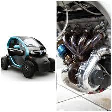 renault twizy blue imagine a renault twizy with a 480bhp turbocharged hayabusa engine