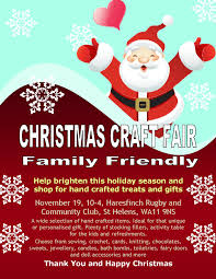 craft fair on 19 november at 10 00