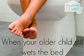 peeing the bed 6 year old still wets the bed