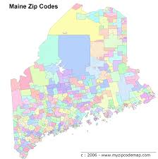 Zip Code By Map Maine Zip Code Maps Free Maine Zip Code Maps