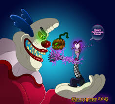 inside out jangles the clown gif insideout janglestheclown welcome to my nightmare complete by leeanix on deviantart
