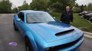 Dodge Challenger Reliability - we fire up the 2018 dodge challenger srt demon youtube