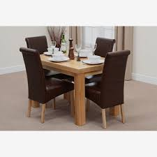 Ft Dining Table Sets Oak Furniture Land - Oak dining room table chairs
