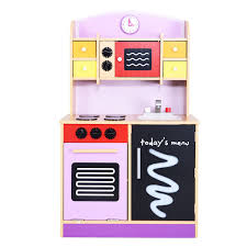 Pretend Kitchen Furniture Wood Pretend Play Toy Kitchen Set Toy Kitchens U0026 Play Food