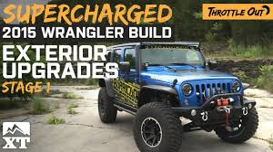 armored jeep wrangler unlimited supercharged jeep wrangler 2007 2017 jk gets armored up youtube