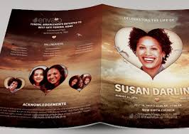 Unique Funeral Programs 15 Great Funeral Brochure Templates U2013 Desiznworld