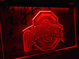 ohio state neon light ld256 ohio state led neon light sign home decor crafts in plaques