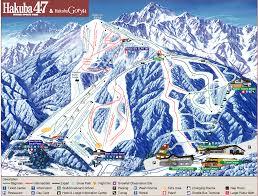 Phoenix Mountain Preserve Map by Hakuba Maps Guide Piste Maps Ski Trail Maps Village Maps
